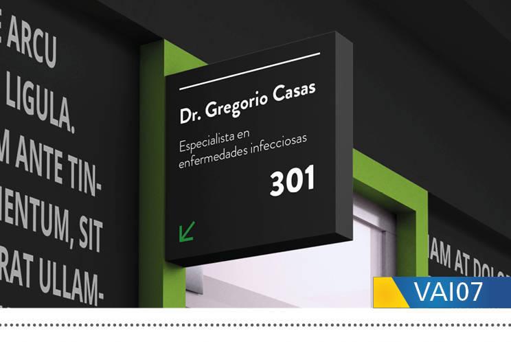 señaletica consultorio médico